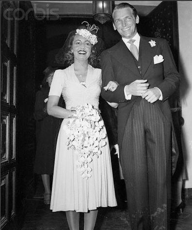 Douglas Fairbanks Jr & Wife Mary