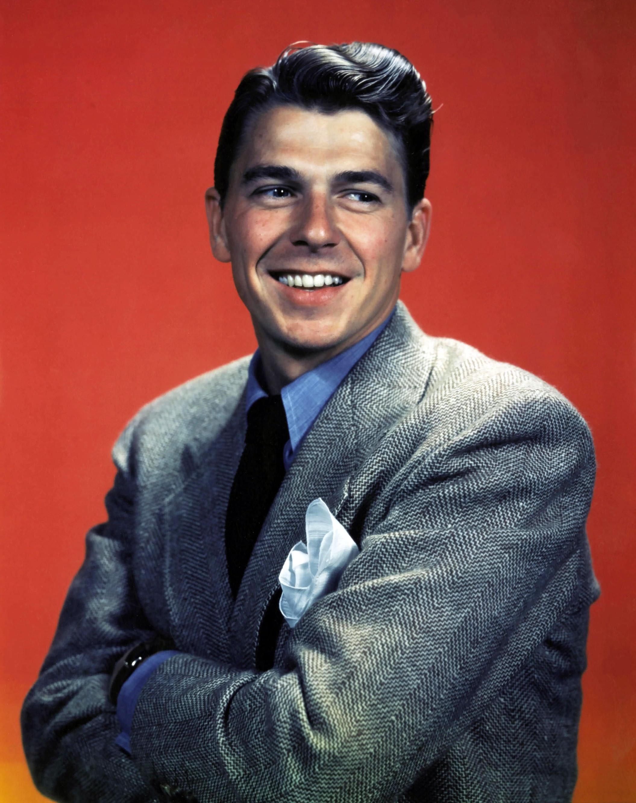 Ronald Reagan Noir Girl